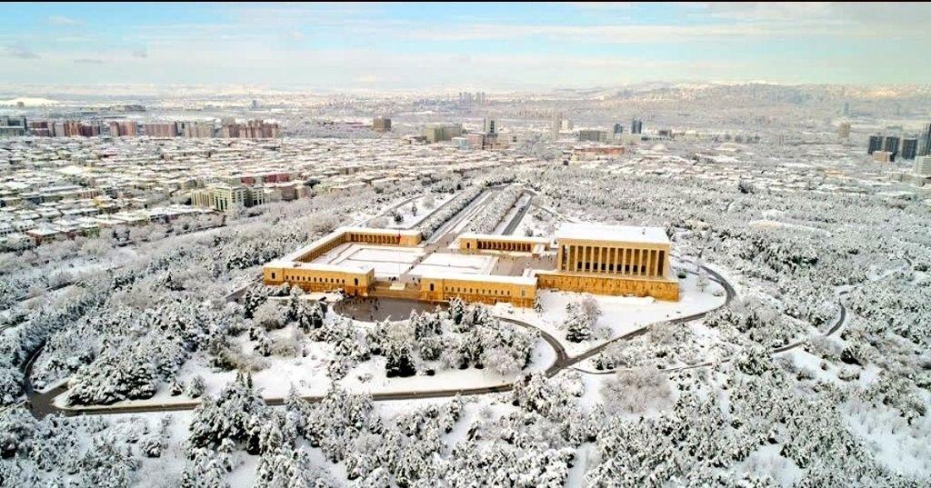 anıtkabir kış